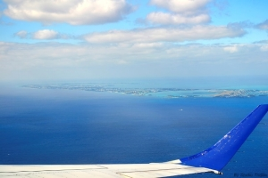 Arriving at Bermuda