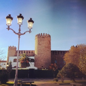 The Castle Hotel (a paradore) in Zafra