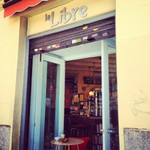 My favorite cafe & bookstore in Madrid!